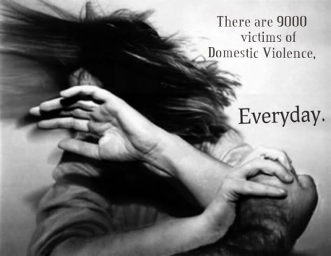 Domestic Violence is a crime. You can't hit another person,ever.