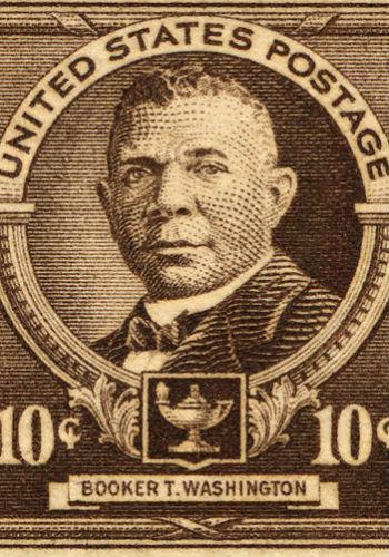 Booker T. Washington stamp