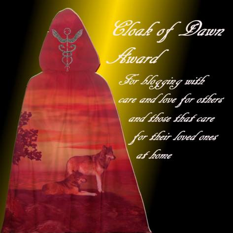 Cloak of Dawn award