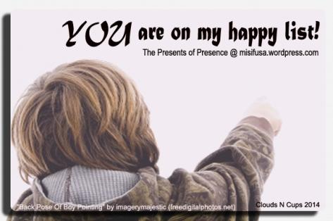 Happy List 5 - Yvonne