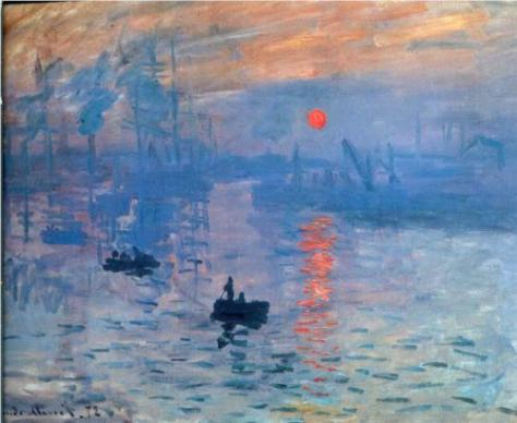 Impressionism, Sunrise by Claude Monet