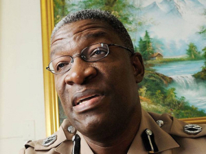 Police Commissioner Owen Ellington: some concerns over his TV interview. (Photo: Gleaner)