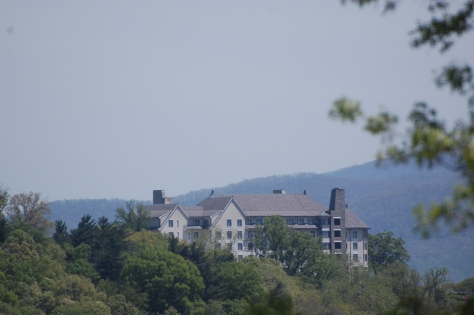 Biltmore on the mountain. Photograph taken and copyrighted by Barbara Mattio 2014