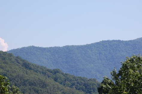 The Blue Ridge Mountains. Photographed and copyrighted by Barbara Mattio 2010