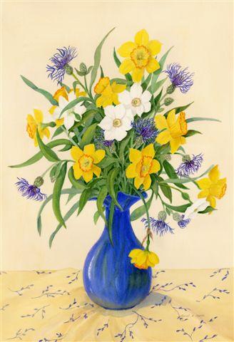 Blog Photo - Muriel Blue Vase