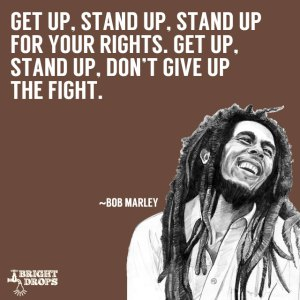 Marley devoted his life to equality.