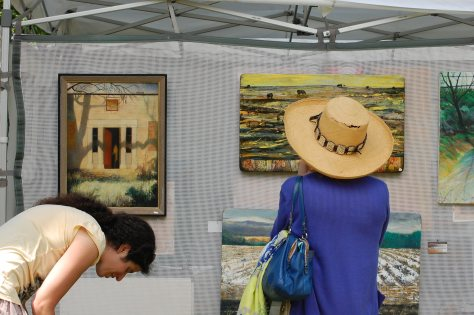 Art Show. Photographed and copyrighted by Barbara Mattio 2014