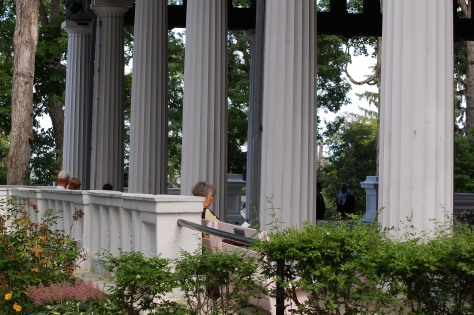Hall of Philosophy. Photographed and copyrighted by Barbara Mattio 2014