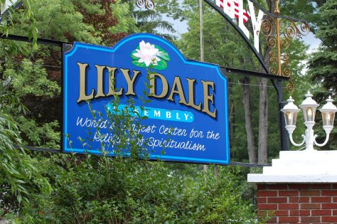 Lily Dale, NY. Spiritualist community