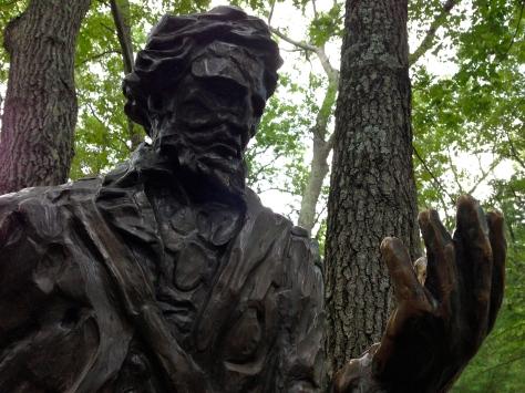 Statue of Henry David Thoreau