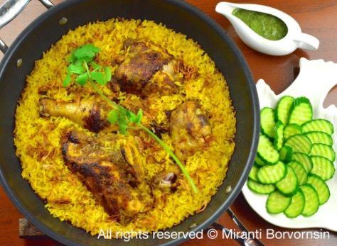 Thai Chicken Rice Biryani