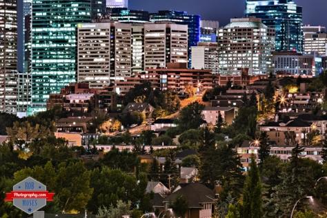 Calgary HDR Skyline Bridgeland Renfrew YYC urban city neighbourhood buildings condos - Rob Moses Photography - Native American Alaskan Famous Tlingit - Seattle Top Vancouver Photographer Popular Photographers