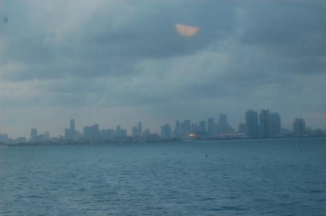 Cleveland skyline from Huntington Beach. Photographed and copyrighted by Barbara Mattio 2010