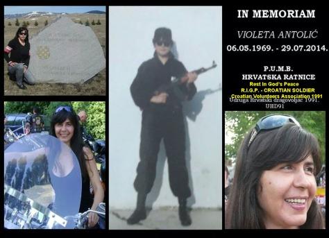 Tribute to Violeta Antolic - Vicky Original photo collation by Goran D.