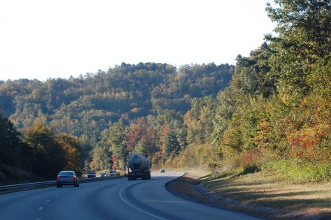 The beautiful drive. Photographed and copyrighted by 2012
