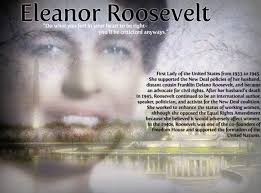 Eleanor Roosevelt as First Lady