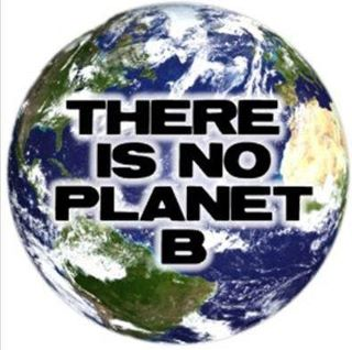 There is no Plan B or Planet B