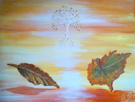 Spirit of Autumn, My interpretation of the Magic of Autumn Gold.