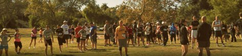 Veteran's Day run held in various places around the country.