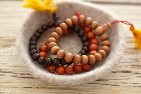 Sandlewood prayer beads