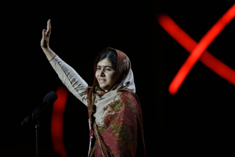 Seventeen-year-old Malala Yousafzai won a Nobel Peace Prize in December, alongside children's rights activist Kailash Satyarthi. Since being shot by the Taliban in 2012, Yousafzai has become a world-renowned peace activist and champion of children's rights.