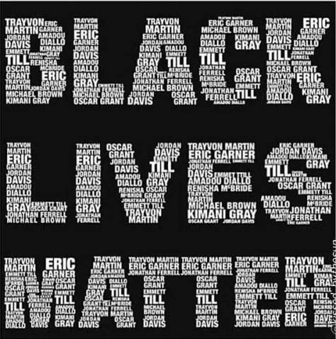 Black Lives Matter names