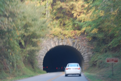 I love the tunnels and there are many. Photograph and copyright by Barbara Mattio 2015