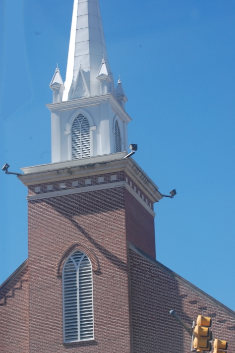 Church Steeple, Waynesville, NC