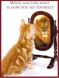It is how you see yourself.