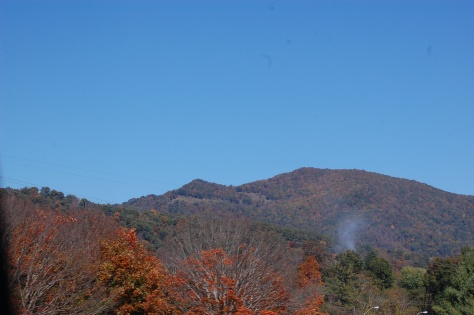 Smokey Mountains. Photograph and copyright by Barbara Mattio 2015