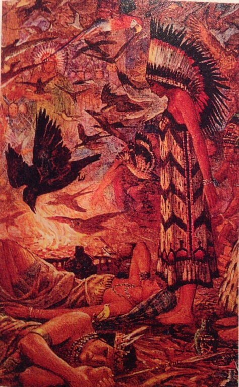 The Native American myth of Deganawidah ahs many astonishing parallels with the story of Christ