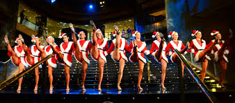 NYC Rockettes performing. They do a bang up job.