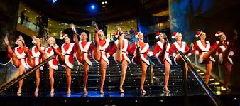 NYC Rockettes performing. They do a bang up job.