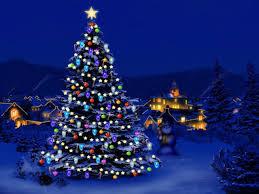 Lights of the holiday season
