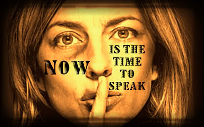 "DV used to be called the ""silent scream"" Speak up now for your life and your children's lives.."
