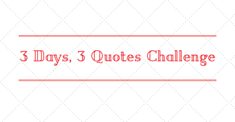 3days3quotes