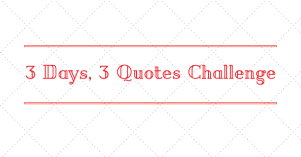 3days3quotes