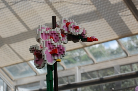 Lego Purple Orchid