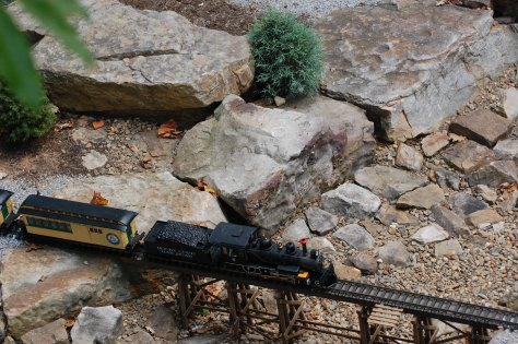 O gauge train photograph and copyright by Barbara Mattio, 2016