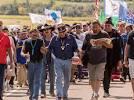 Native Americans protesting Dakota pipeline