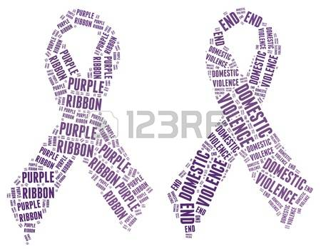 purple-ribbon-campaign-made-from-word-illustrations-isolated-on-white