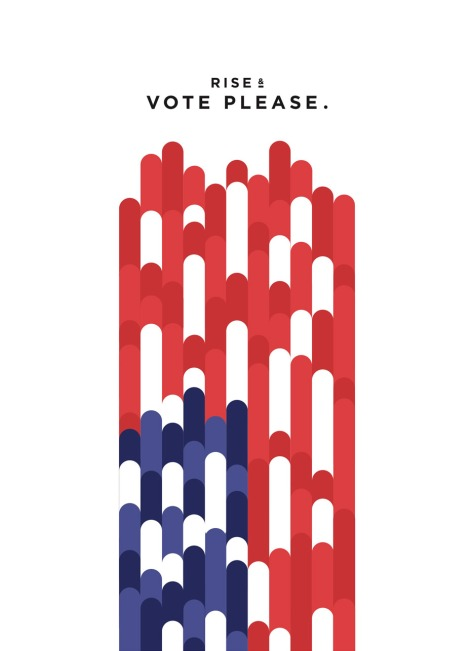 Rise up and vote.