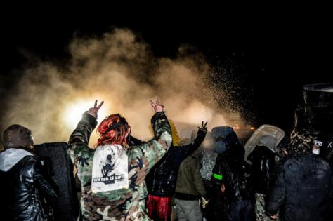 By staying on message and advancing through prayer and ceremony, Standing Rock's pipeline protesters, or water protectors, have offered the world a template for resistance. PHOTOGRAPH BY ROB WILSON